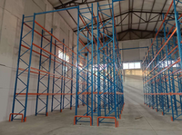 Case of a Heavy-duty Shelving Rack for Equipment in Lanzhou, Gansu