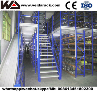 Industrial Warehouse Mezzanine Racking System