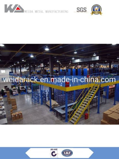 Warehouse Industrial Steel Mezzanine Platform