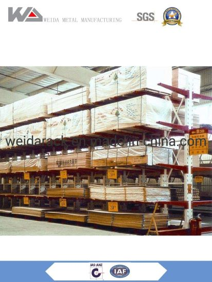 China Single Sided Cantilever Rack