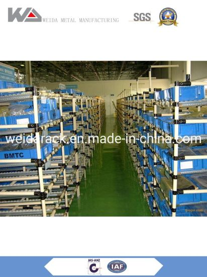 Warehouse Carton Flow Racking System