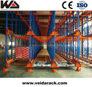 Industrial Warehouse Radio Shuttle Racking