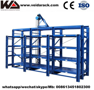 China Gravity Flow Pallet Rack