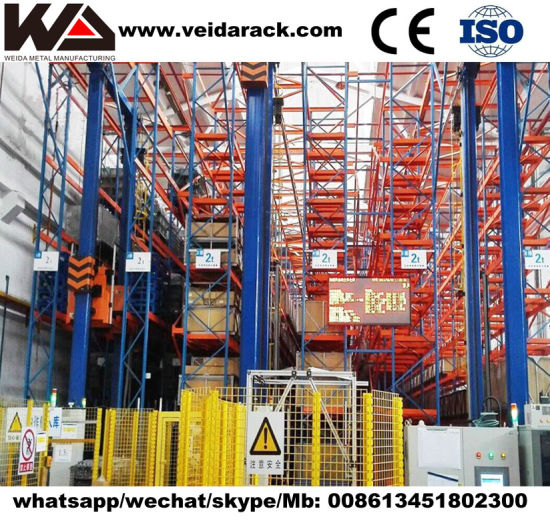 Automated Warehouse Heavy Duty Racking System