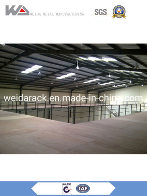 Multi-Tier Steel Mezzanine Floor Warehouse Racking System
