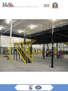 China Warehouse Pallet Rack Mezzanine Systems