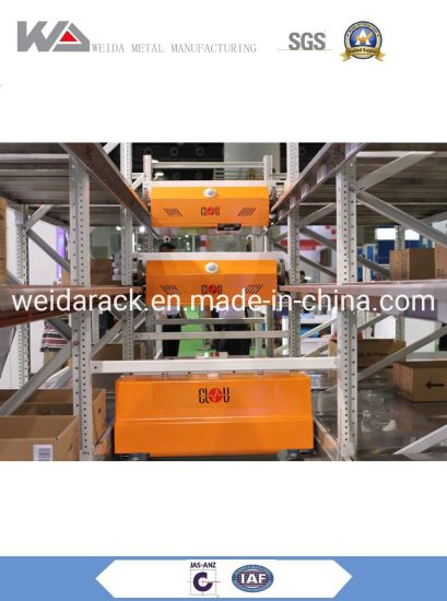 Steel Radio Shuttle Racking for Warehouse Storage