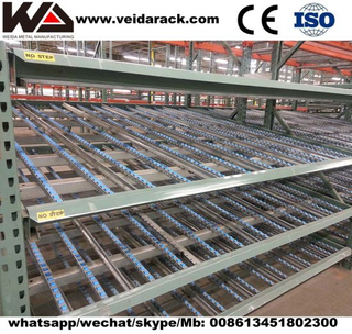 Industrial Pallet Flow Racking System