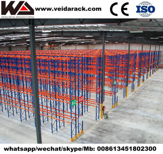 Automated Narrow Aisle Racking System