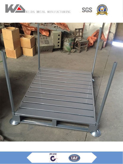 High Quality Stackable Steel Pallets Racks