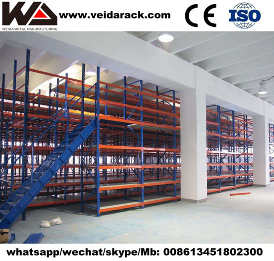 Industrial Heavy Duty Steel Mezzanine System