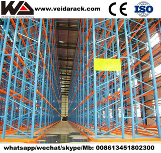 Industrial Warehouse Heavy Duty Narrow Racking
