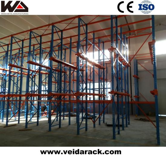 Drive Through Racking System