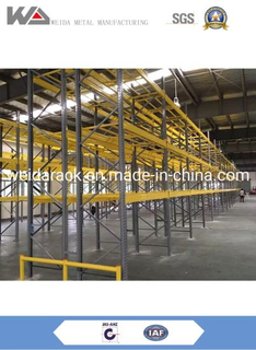 Structural Pallet Rack System with Powder Coating