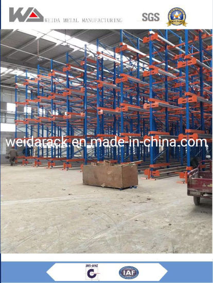 China Industry Drive in Racking System
