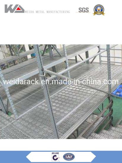 Industrial Multi Level Q235 Steel Storage Mezzanine Floor Racking System