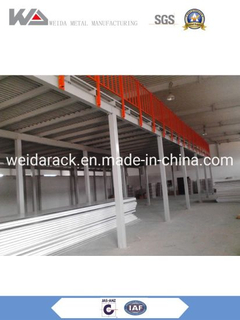 Heavy Duty Pallet Rack Structure Mezzanine