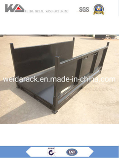 Steel Stacking Racks Pallets Warehouse