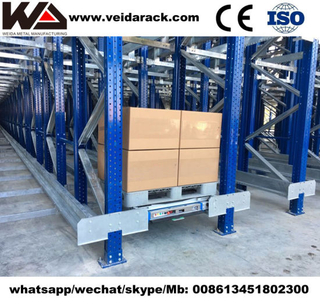 China Industrial Warehouse Radio Shuttle Rack