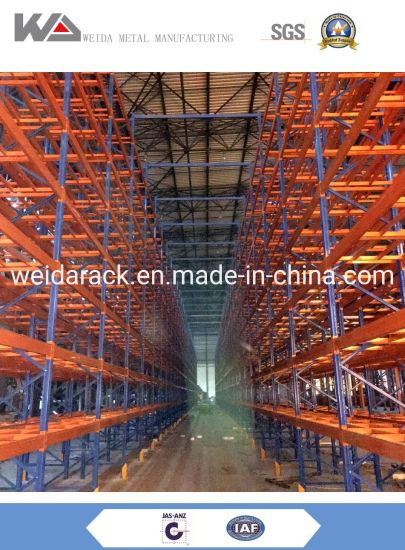 Steel Pallet Racking System with Powder Coated Or Galvanized