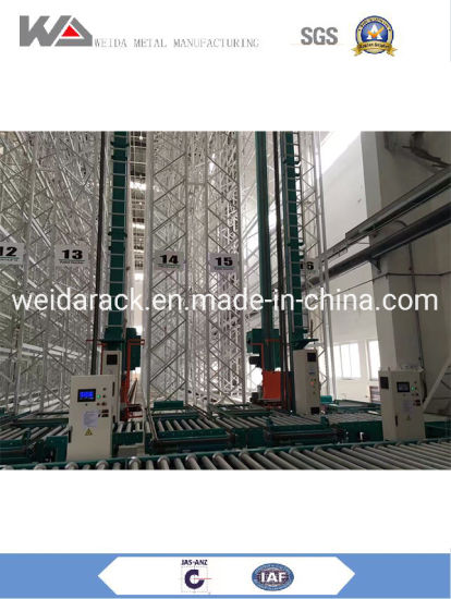 Rapid Warehouse Load ASRS Storage Automatic Racking System