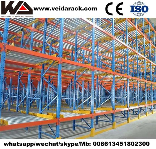 Gravity Feed Shelving System
