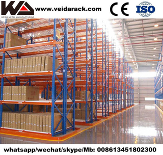 Warehouse Narrow Aisle Pallet Racking System